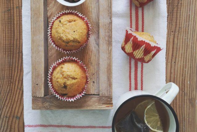 Muffin zucca, cocco e uvetta di Una Cucina a Pois