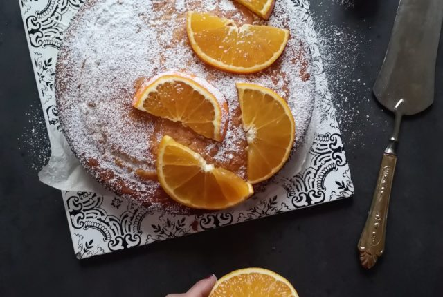 La ricetta della torta all'arancia e olio extravergine
