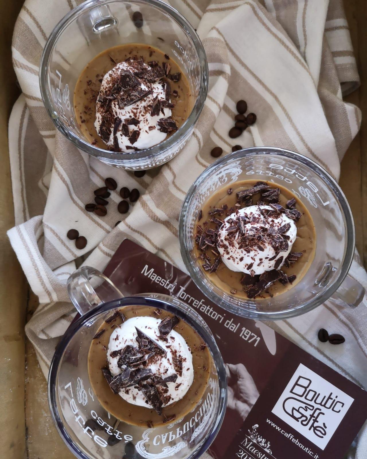 La ricetta del budino al caffè