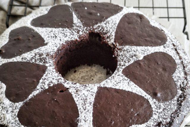 Torta soffice al cacao